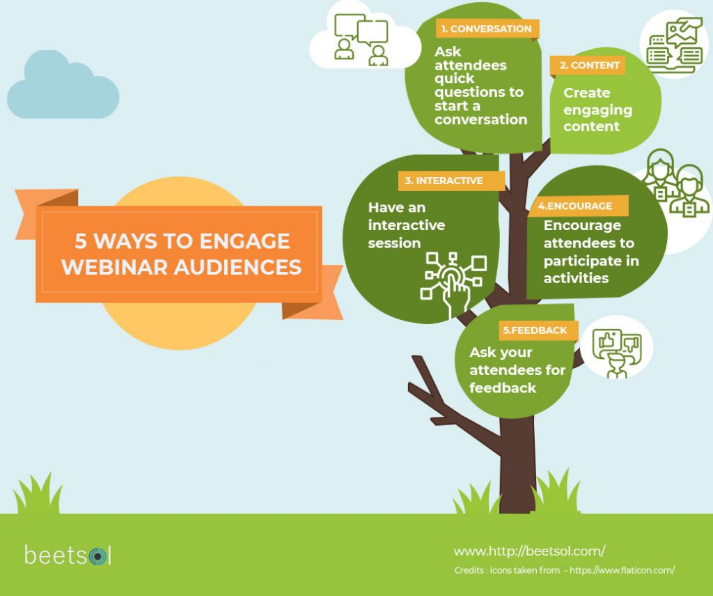 5 ways to engage webinar audience