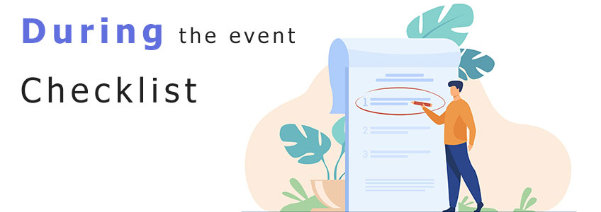during-the-event-checklist