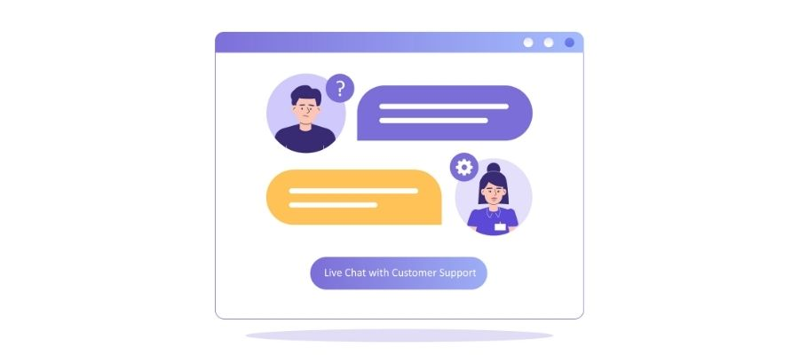 Include Live Chat Support